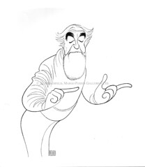 AL HIRSCHFELD at the MARGO FEIDEN GALLERIES LTD., NEW YORK (The Margo Feiden Galleries Ltd.) Tags: music selfportrait film television smithsonian dance actors tv etching media comedy theater noir play treasure audience theatre drawing stage broadway exhibition romance exhibitions hollywood writers posters personalities singers movies classical plays walkoffame press publicity drama stills producers agents treasures vaudeville conductors composers directors penink actresses songwriters showbusiness bway alhirshfeld alhirschfield alberthirschfeld alhirshfield crowsquillpen alhirschfled