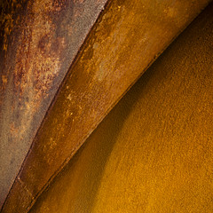 (morbs06) Tags: duisburg abstract architecture colour iron landschaftsparknord metal monochrome rust square stripes texture surface