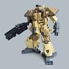 Nakaō X6 - Heavy Gunner (Fredoichi) Tags: lego space military police walker micro mecha mech microscale fredoichi gundamtype patlabortype