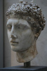Marble head of an athlete (Roman) - The Met (h_savill) Tags: old nyc travel portrait usa holiday newyork history archaeology statue stone america ancient display roman manhattan object famous sightseeing decoration may tourist carving historic musee bust marble artifact archeology themet metropolitanmuseumofart 2012 artefact