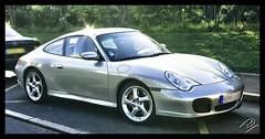 Porsche 911 Carrera S (Phil 22) Tags: gris 22 raw phil pentax 911 s porsche hdr carreras carrera perrosguirec jantes ctesdarmor trestraou 1raw hdr1raw k200d
