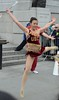 Img284856nx2 (veryamateurish) Tags: london trafalgarsquare cheerleaders band usc universityofsoutherncalifornia girl woman miniskirt