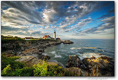 Great Sky @ Portland Head Light