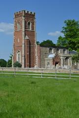 DSC_2369 (ArchD40 aka The Indecisive Moment) Tags: brick church gothic nave a1 cambridgeshire anglican a1m diddington nikond3100