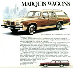 1981 Mercury Colony Park Station Wagon (coconv) Tags: pictures auto park wood old classic cars car station vintage magazine ads advertising wagon cards photo flyer automobile post image mercury photos antique album postcard ad picture images advertisement vehicles photographs card photograph postcards 1981 vehicle autos collectible collectors brochure automobiles colony dealer 81 prestige