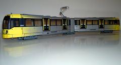 Model Metrolink tram