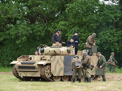 Reenactment - German Armour (Megashorts) Tags: uk camp england army war tank military wwii olympus hampshire replica vehicles german overlord ww2 vehicle soldiers e3 iv armour 50200mm zuiko reenactment troops axis swd 2012 panzer armoured zd denmead solentoverlord overlord2012 ppdcb4