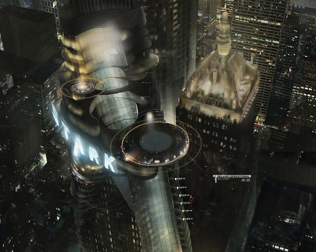 復仇者聯盟電影人機介面與UI設計 by Jayse Hansen