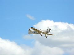 Percival P6 Mew Gull - 6 (NickJ 1972) Tags: gull aviation airshow duxford percival 2010 mew p6 iwm flyinglegends gaexf e2h