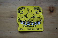 Happy Chappy (ViSiON (NZ)) Tags: christchurch illustration graffiti sticker stickerart vision handdrawn graffitiart sydneygraffiti stickercollection stickergrafitti nzstreetart christchurchgraffiti nzgraffiti chchstreetart christchurchstreetart chchgraffiti visionstreetart visionchchnz nzgraffitiart christchurchgraffitiart nzstickerart sydneygraffitiart sydneystickergraffiti sydneystickerbomb