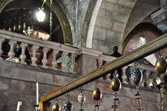 Interior of the Church of the Holy Sepulcre (AaronBerkovich) Tags: israel nightlights jerusalem oldcity jerusalemstone jaffagate churchoftheholysepulcre jerusalemisrael oldcityofjerusalem