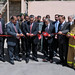 Kabul Central Fire Station ribbon cutting