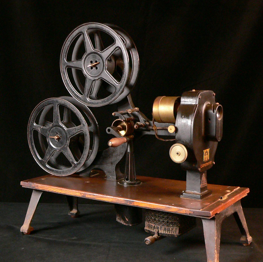 how to set a 35mm projector