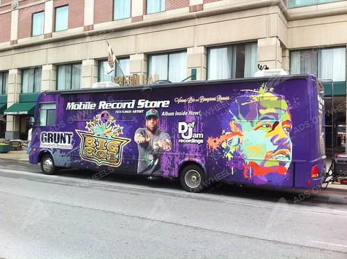 motorhome wrap graphics for DJ, new york, ny