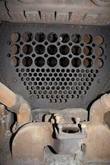 Smokebox interior (LC1073) Tags: c32 steamlocomotive steamloco broadmeadow 3203 pclass nswgr 32class broadmeadowloco broadmeadowlocodepot broadmeadowroundhouse