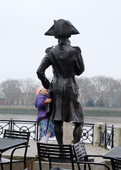 Hello Mr Admiral (Lars Plougmann) Tags: england london statue thames unitedkingdom greenwich gb admiral dscf9676