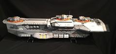 Hiigaran Destroyer (aaron.fiskum) Tags: lego space spaceship homeworld