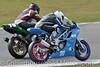 Supertwins - R1 (10) Aaron Bradley laps a backmarker (Collierhousehold_Motorsport) Tags: honda suzuki kawasaki aprilia 400cc snetterton 650cc supertwins avontyres thundersport thundersportgb snetterton200 stocktwins hmtracing