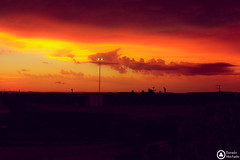 Nuvem de drago! (Dorado Machado) Tags: pordosol sol luzes nuvem riograndedosul caapavadosul drago nuvemdragao
