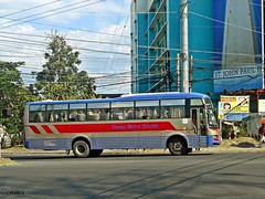 Davao Metro Shuttle (Monkey D. Luffy 2) Tags: road city bus public photography photo nikon nissan diesel philippines transport motors vehicles transportation coolpix vehicle santarosa society davao ud philippine enthusiasts philbes exfoh pkb212n