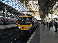 transpennine express class185 185118 seen at manchester piccadilly and again at sheffield working a service to cleethorpes (I.Wright Photography over 2 million views thanks) Tags: manchester sheffield working picadilly again service express seen cleethorpes transpennine class185 185118