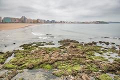 Gijn (Eugercios) Tags: city sea cidade espaa verde praia beach skyline mar spain espanha europa europe cityscape gijn north ciudad asturias playa norte asturies xixn cantbrico astrias northofspain cantabric espaaverde principadodeasturias