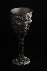 Saruman Goblet (Chess Piece) (sr667) Tags: canon lordoftherings pewter ef100mmf28macrousm sarumangoblet sarumangobletchesspiece pewterminiaturegoblet