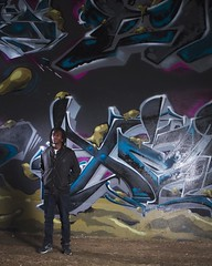 Dez. (Wade Stofko) Tags: lighting urban make fashion st wall canon pose eos graffiti louis model alien mikes bee jordan 7d mens onlocation alienbees hypebeast urbanfashion nostrobistinfo removedfromstrobistpool seerule2 instagramapp