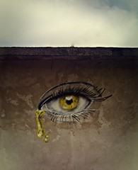 Tears of the Streets (Marcos D. Torres) Tags: street wild white eye art yellow wall brasil painting skull graffiti design sketch artwork eyes paint artist acrylic arte exercise eagle head designer drawing experiment drawings sketchbook preto spray amarelo porto eyeball spraypaint doodles draw tear aerosol alegre sketches marcos desenhos desenho alert pintura spraycan artista torres grafite acrlico