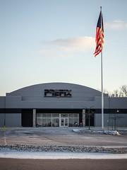 From Retail to Industrial... (Nicholas Eckhart) Tags: usa retail mi america us closed michigan auburn hills former auburnhills stores kmart reuse 2016 supercenter superkmart
