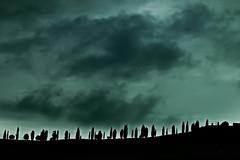 TUSCANY (gazzettinopadano) Tags: light clouds dark nuvole country hill campagna tuscany crete siena toscana cipressi senesi