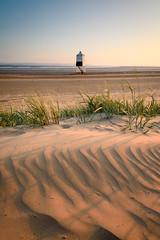 Zebra Stripes (Stu Meech) Tags: sunset lighthouse sand nikon dunes somerset lee d750 su ripples filters burnham burnhamonsea 1635 meech sidelight