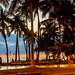 Waikiki Beach at sundown