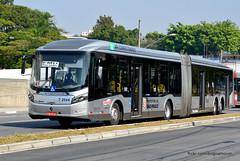 7 2544 (American Bus Pics) Tags: urban bus colors sãopaulo mercedesbenz ônibus brt omnibus uda brs articulado lowfloor o500 pisobaixo pisobajo millenniumbrt