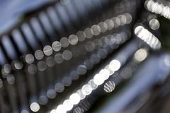 Round Bokeh on Gray (HK Passey) Tags: blur cars metal silver reflections bokeh chrome transportation automobiles vintageautos bokehwhores beyondbokeh cruzincolby seattlerodtiques