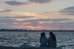 Week 25/52:2016 Edition - Light -DSC_0439 (John Hickey - fotosbyjohnh) Tags: ireland sunset sea sky people dublin seascape june evening seaside outdoor seashore irishsea dunlaoghaire 2016 dublinbay june2016
