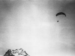 alps III (Karo Krmer) Tags: paragliding schirm alpen alps schwarzweis blackandwhite monochrom rollei35t analog berge mountains schweiz suisse