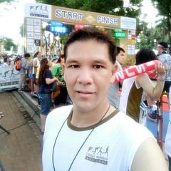 #Sukhothai Minimarathon 2016 เข้าด้วยเวลาที่เน่ามาก 1 ชั่วโมง 2 นาที มีข้ออ้างว่ายังไม่หายหวัด