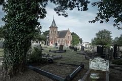 Nottingham (daniel gigliotti2012) Tags: nottingham uk england xpro fuji tomb chiesa desaturation fujifilm cimitery tombe cimitero inghilterra criptic xpro1