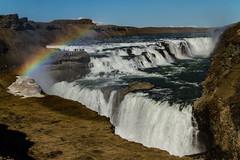 Gullfoss (icecold46) Tags: water landscape waterfall iceland rainbow outdoor foss gullfoss goldencircle regnbogi suðurland gullnihringurinn