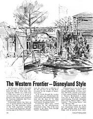 Vacationland Fall 1965 18 - Frontierland (Tom Simpson) Tags: vintage disneyland disney 1960s vacationland 1965 frontierland vintagedisneyland vintagedisney