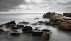 Avoca Rocks (dave.gti) Tags: ocean longexposure seascape water rocks australia nsw centralcoast select avoca oceanscape