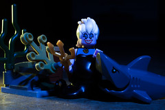Know your friends... (Chris Blakeley) Tags: shark lego ursula littlemermaid minifigures toyphotography