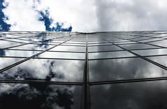 Spieglein Spieglein .... (tan.ja1212) Tags: sky clouds reflections mirror spiegel himmel wolken brogebude spiegelung hochhaus verglast