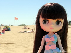 Primer dia de playa!!! (Gisdu) Tags: summer blythe lydia blythedoll middie