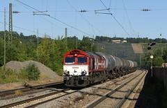 HGK-ler in Stuttgart-Mnster (fuzzfilipp) Tags: diesel stuttgart hgk gterzug class66 privatbahn schusterbahn