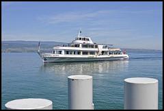 CGN Gnral Guisan arrive  Yvoire (wilphid) Tags: lac bateau lman hautesavoie yvoire chablais