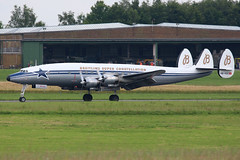 Breitling Super Constellation HB-RSC (Thomas Theisen) Tags: breitling super constellation hbrsc florennes airbase belgian air force days aviation photography planespotting