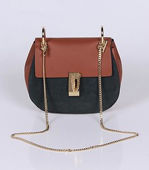 Chloe Suede Leather Golden Chain Crossbody Bag (ReplicaBags) Tags: beauty fashion designer chloe handbags outlets voguekingluxury