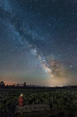 Best Seat In The House (bobbrown11) Tags: nightphotography mountains night wyoming grandtetons milkyway bobbrown phelpslake 500px phelpslaketrail rbbrown rbbrownphotoscom